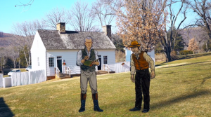 FIRST ARTGLASS US AUGMENTED REALITY TOUR AT JAMES MONROE'S HIGHLANDS